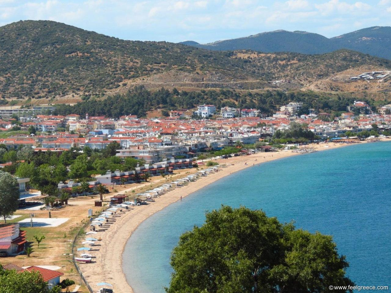 Nea Peramos Kavala Region North Greece