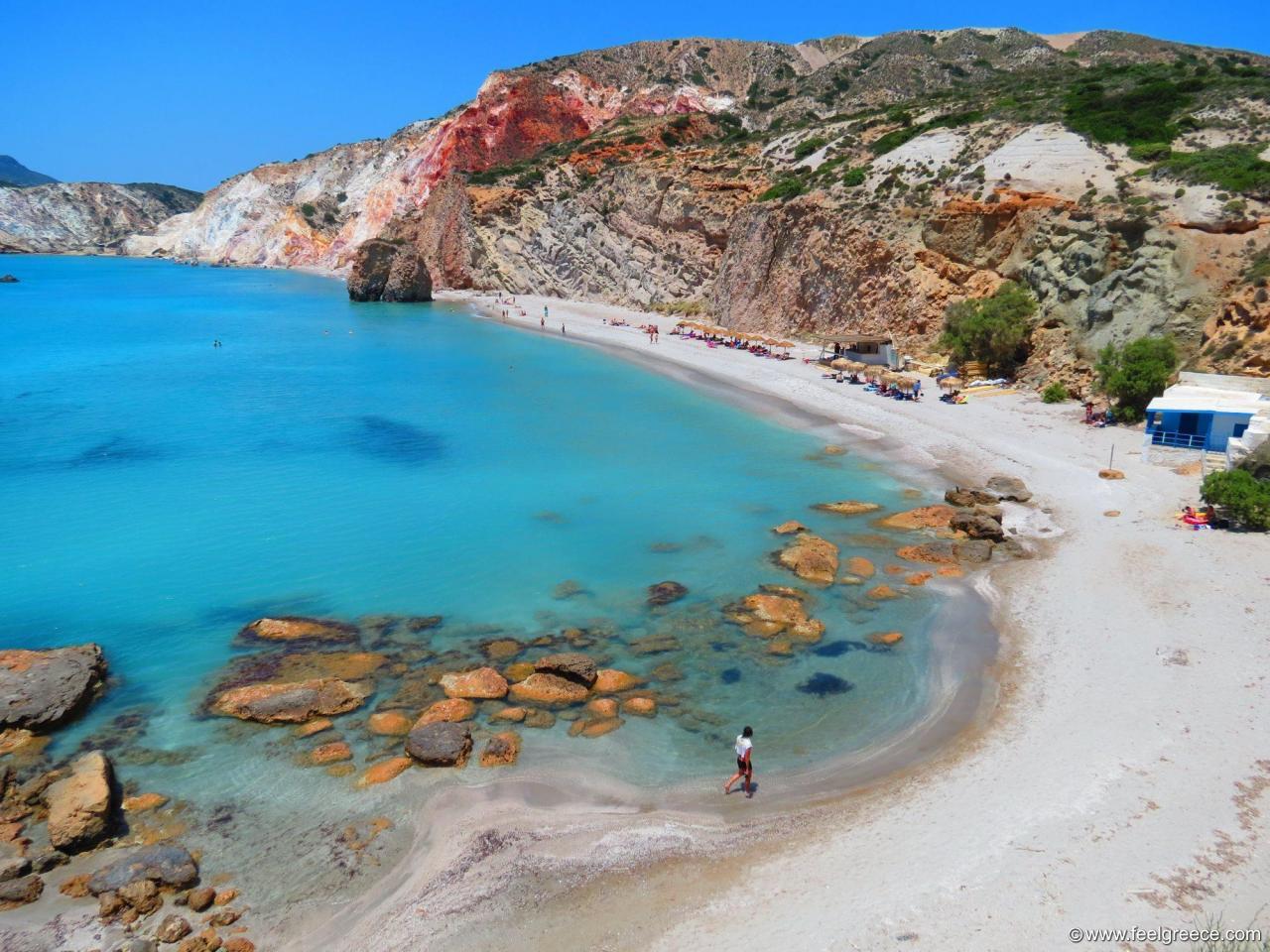 Top 10 Beaches Of Milos Island